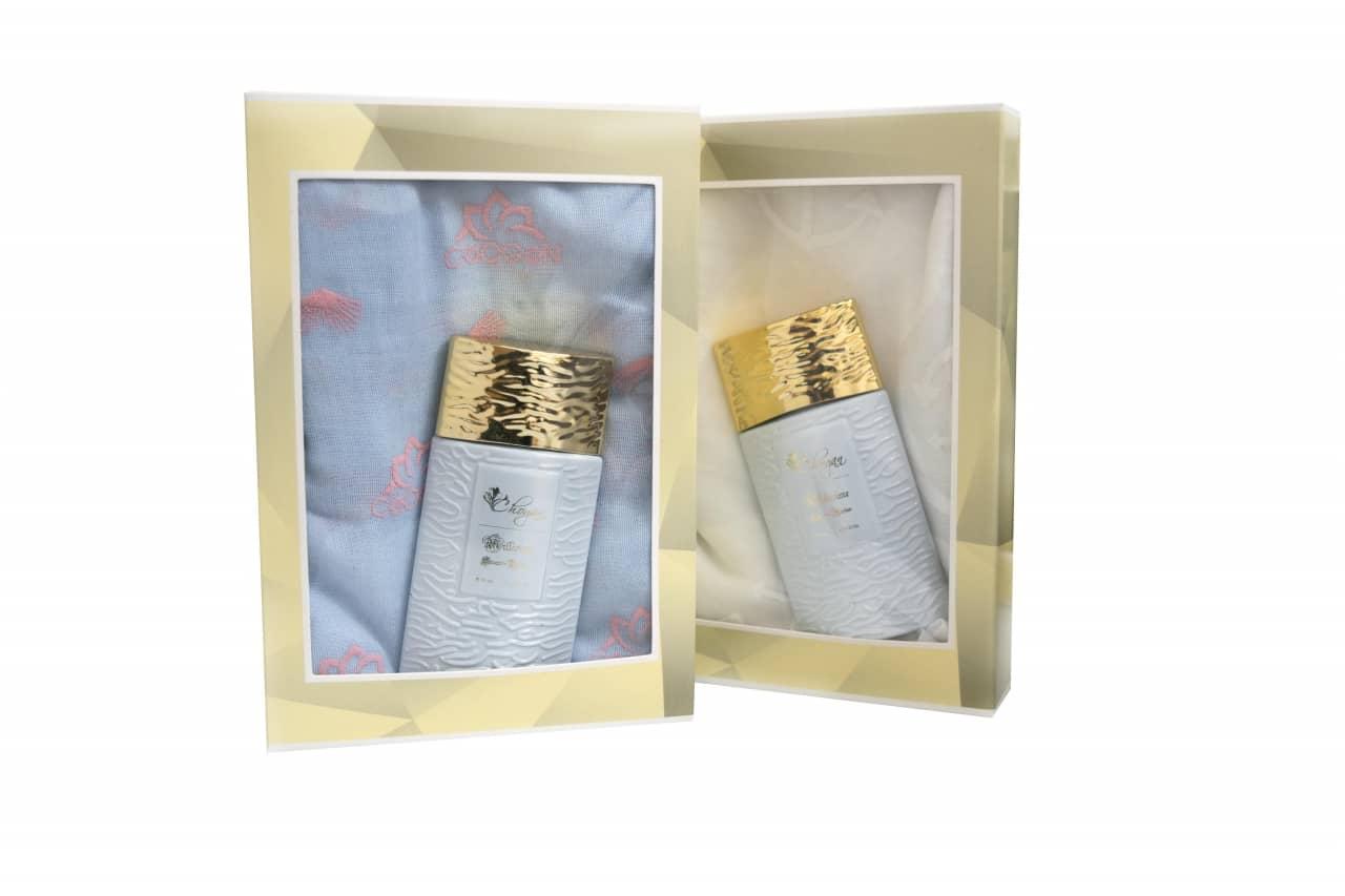 Coffrets Parfum femme 35ml + ÉCHARPE À MOTIFS code CSR07
