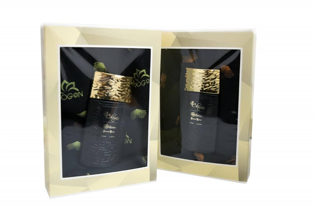 Coffrets Parfum homme 35ml (parfum 02) + ÉCHARPE À MOTIFS