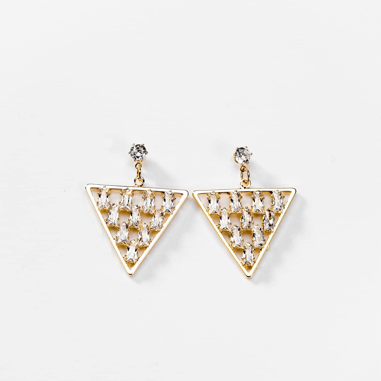 triangle pendant d oreille